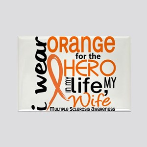 Hero In Life 2 MS Rectangle Magnet