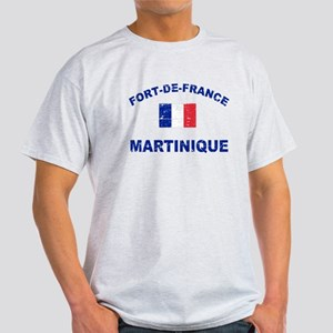 Fort De France Martinique designs Light T-Shirt