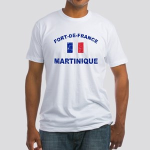 Fort De France Martinique designs Fitted T-Shirt
