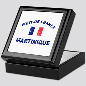 Fort De France Martinique designs Keepsake Box