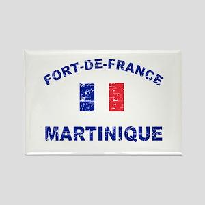 Fort De France Martinique designs Rectangle Magnet