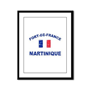 Fort De France Martinique designs Framed Panel Pri
