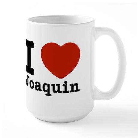 I love Joaquin Large Mug