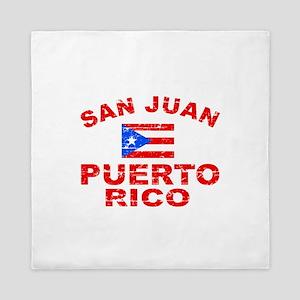 San Juan Puerto Rico designs Queen Duvet