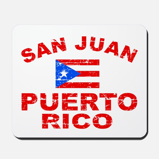 San Juan Puerto Rico designs Mousepad