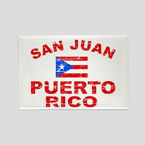 San Juan Puerto Rico designs Rectangle Magnet