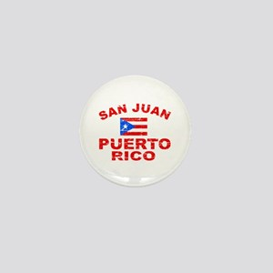 San Juan Puerto Rico designs Mini Button