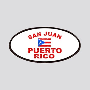 San Juan Puerto Rico designs Patches