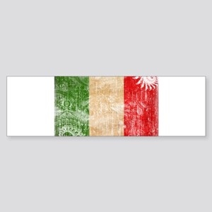Italy Flag Sticker (Bumper)