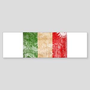 Italy Flag Sticker (Bumper)