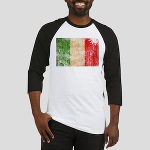 Italy Flag Baseball Jersey