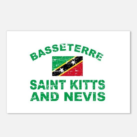 Basseterre Saint Kitts and Nevis designs Postcards