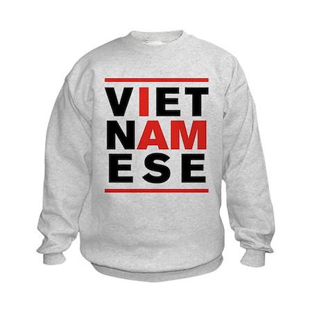 I AM VIETNAMESE Kids Sweatshirt