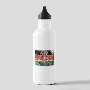 Kenya Flag Stainless Water Bottle 1.0L