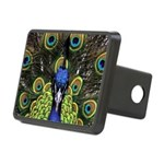 Peacock Rectangular Hitch Cover