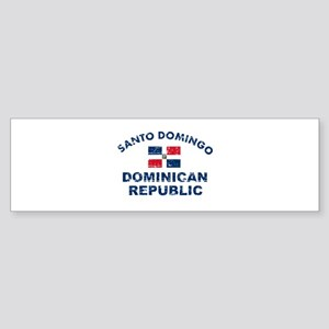 Santo Domingo Dominican Republic designs Sticker (
