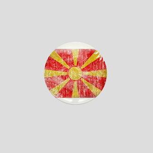 Macedonia Flag Mini Button