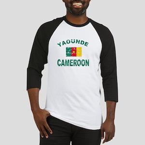Yaounde Cameroon designs Baseball Jersey