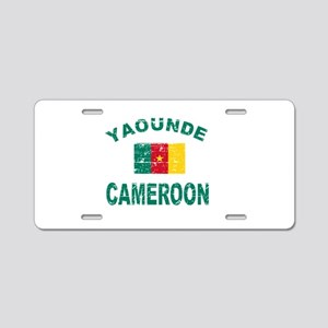 Yaounde Cameroon designs Aluminum License Plate