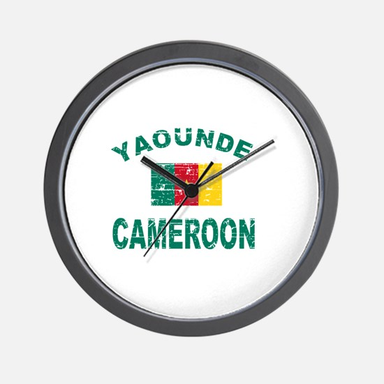 Yaounde Cameroon designs Wall Clock