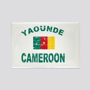 Yaounde Cameroon designs Rectangle Magnet