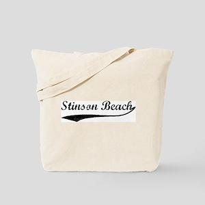 Stinson Beach - Vintage Tote Bag