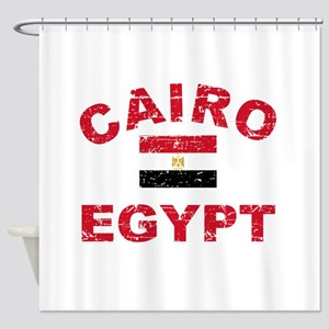 Cairo Egypt designs Shower Curtain