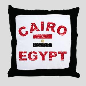 Cairo Egypt designs Throw Pillow