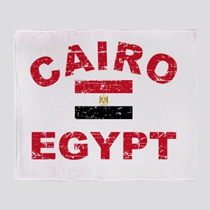Cairo Egypt designs Throw Blanket
