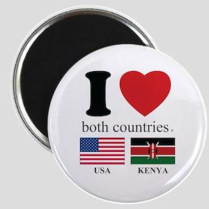 USA-KENYA Magnet