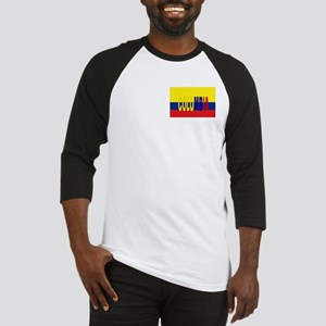 Colombia flag & Colombia name written Baseball Jer