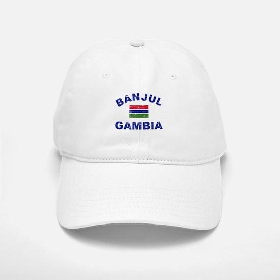 Banjul Gambia designs Baseball Baseball Cap