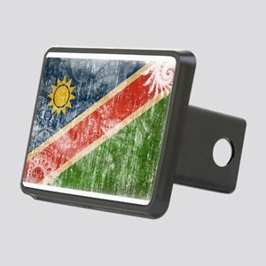 Namibia Flag Rectangular Hitch Cover