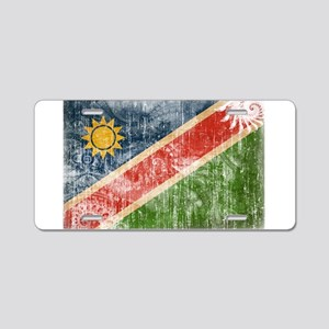 Namibia Flag Aluminum License Plate