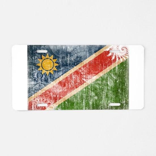 Namibia Flag Aluminum License Plate