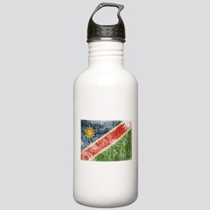 Namibia Flag Stainless Water Bottle 1.0L