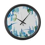 Atom Sea Large Wall Clock