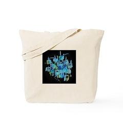 Atom Sea Tote Bag