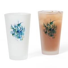 Atom Sea Drinking Glass