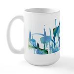 Atom Sea Large Mug