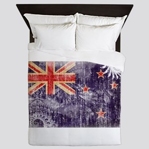 New Zealand Flag Queen Duvet