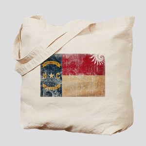 North Carolina Flag Tote Bag