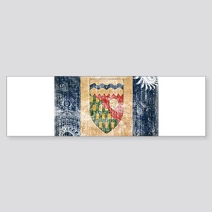 Northwest Territories Flag Sticker (Bumper)