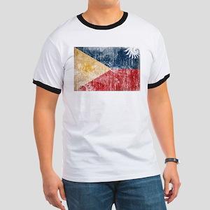 Philippines Flag Ringer T
