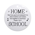 HOMESCHOOL HARMONY Ornament (Round)