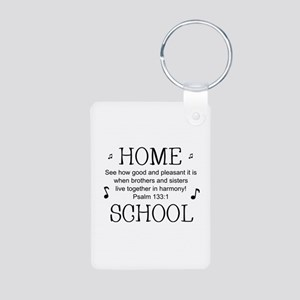 HOMESCHOOL HARMONY Aluminum Photo Keychain