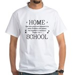 HOMESCHOOL HARMONY White T-Shirt