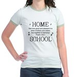 HOMESCHOOL HARMONY Jr. Ringer T-Shirt