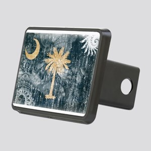 South Carolina Flag Rectangular Hitch Cover