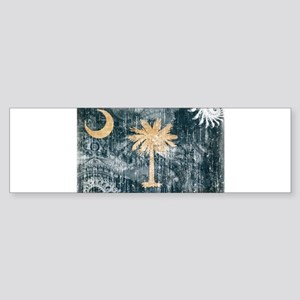 South Carolina Flag Sticker (Bumper)